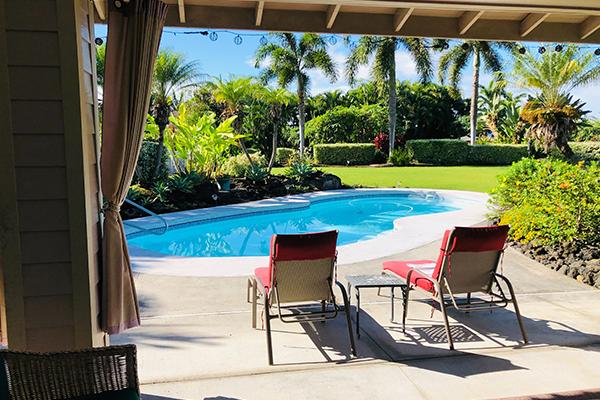 beautiful luxury pool