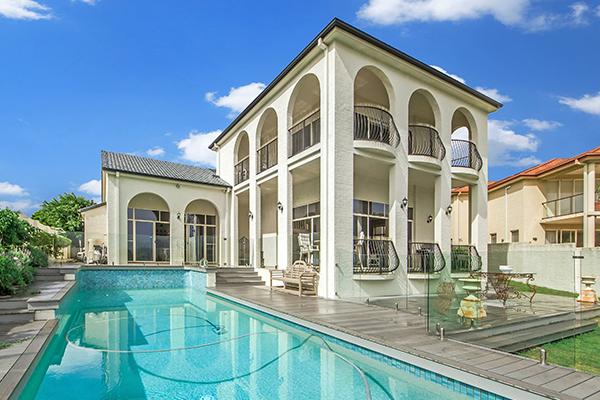 gated luxury property