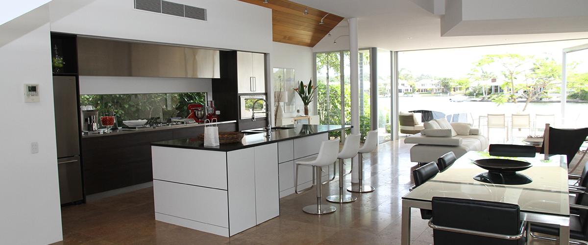 luxurious modern home