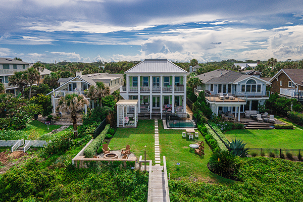 luxury home with gulf access