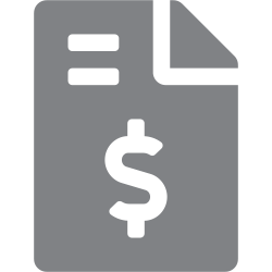 collection and disbursement icon
